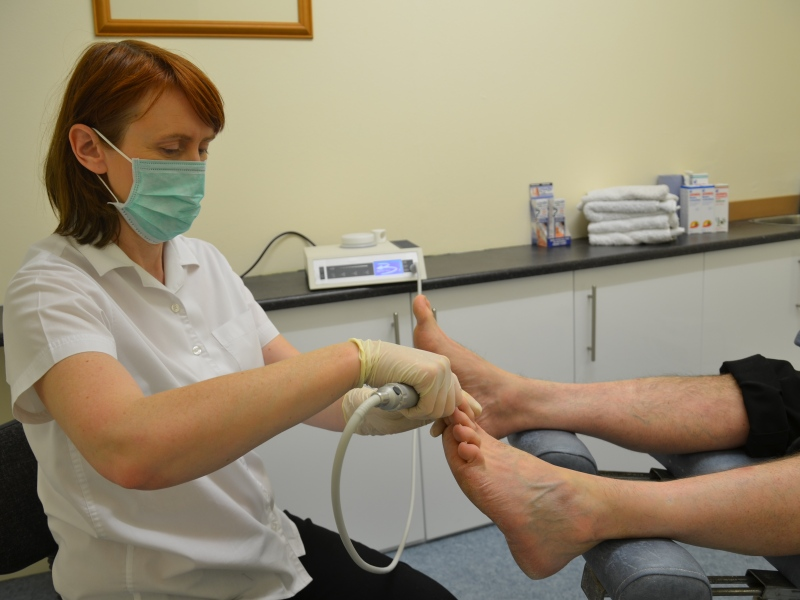 Toenail treatment
